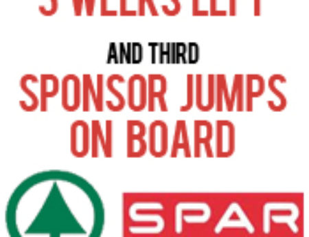 Third Sponsor on board