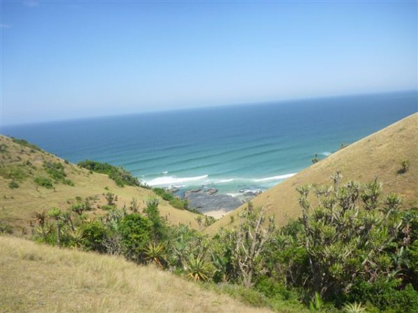 Kim van Kets- Beautiful view on the way to Port st Johns