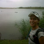 Kim van Kets near Kosi Bay - Look at the Wild Hippos