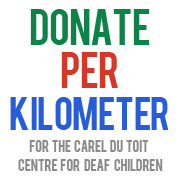 Donations for the Carel du Toit Centre for deaf Children