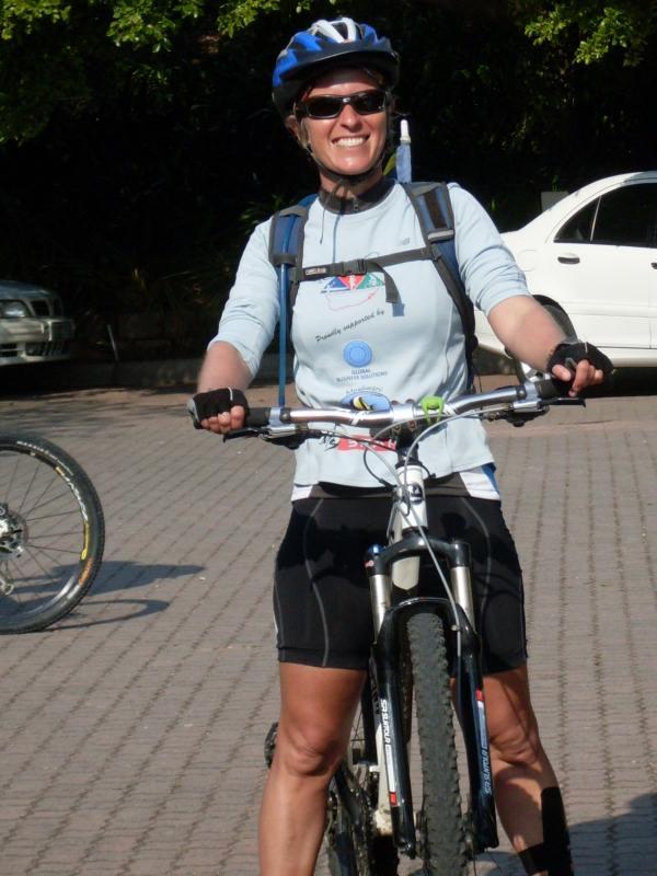 Kim van Kets at Mpekweni Beach Resort on Day 145