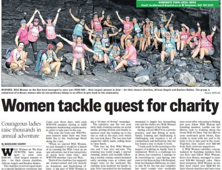 Wild Women raise over R200 000